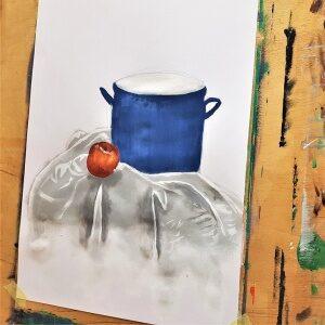 malba na plátně
