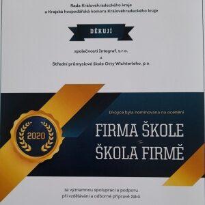 Nominace na firma škole škola firmě